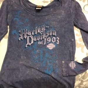 Women's long sleeve Harley Davidson